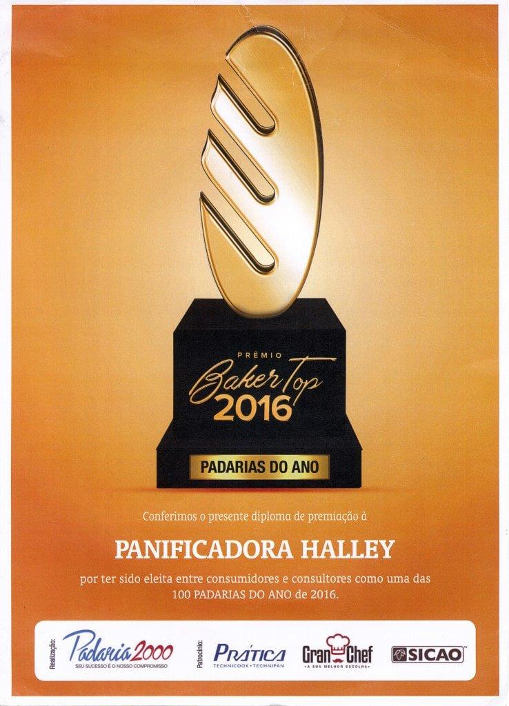 Prêmio Baker Top 2016